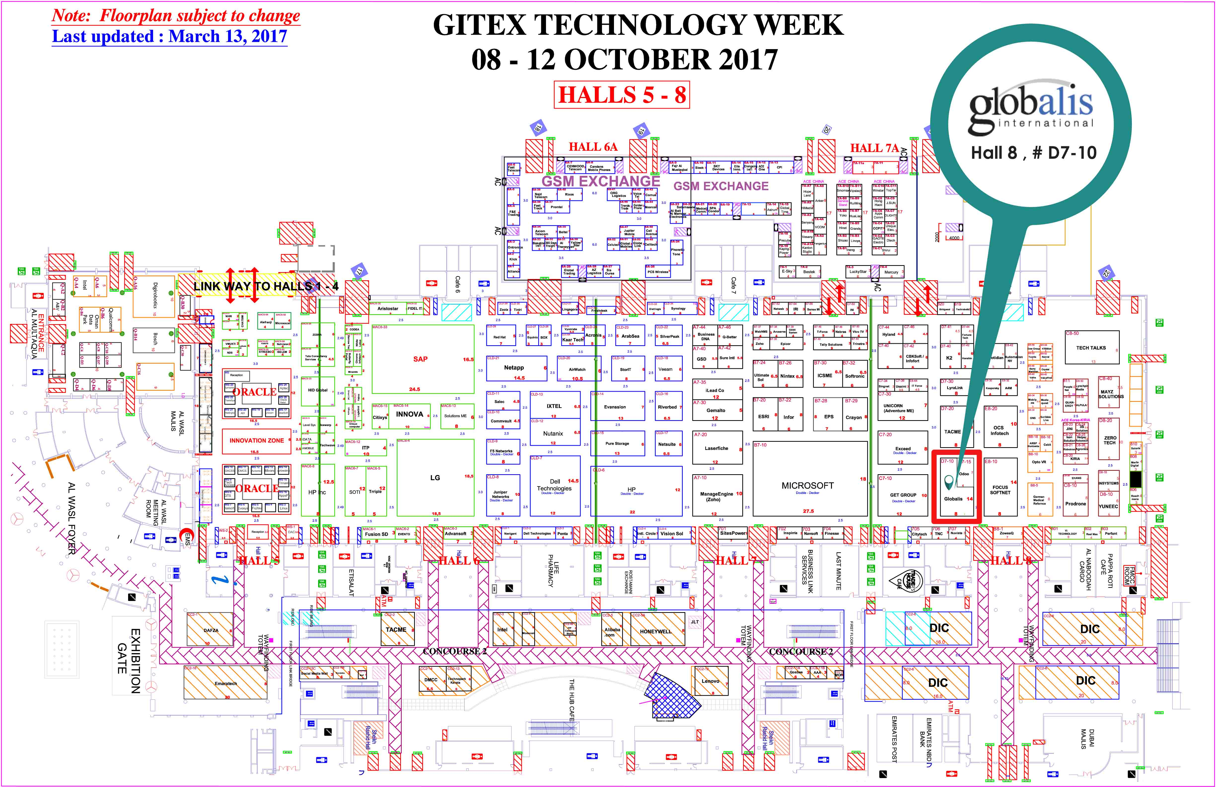 Gitex 2017 we are pleased to inform you that globalis international will participate at gitex 2017 to be held from 8 12 october 2017 at dubai world trade center gumiabroncs Image collections